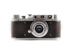Retro photo camera isolated on white background 4 Stock Photography