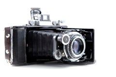 Retro photo camera isolated on white background 8 Stock Photography