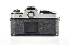 Retro photo camera isolated on white Stock Photography