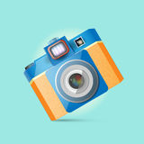 Retro photo camera Royalty Free Stock Photos