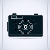 Retro photo camera Royalty Free Stock Photography