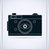 Retro photo camera Royalty Free Stock Photography