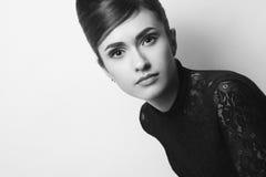 Retro photo of fashionable style icon Stock Photography