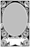 Retro photo frame 01 Royalty Free Stock Photography