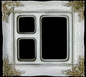 Retro photo frame royalty free stock photo