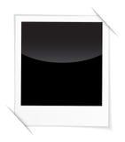 Retro photo frame  on white background. Vector illustration Stock Photo