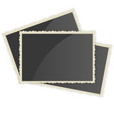 Retro Photo Frame   On White Background Royalty Free Stock Photography