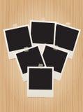 Retro photo frames Royalty Free Stock Photos