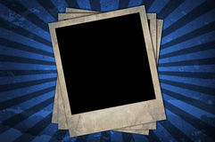 Retro photo frames Royalty Free Stock Photos