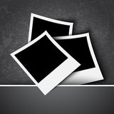 Retro photo frames Royalty Free Stock Photo