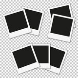 Retro photo frames. Retro photo frames presented in three different provisions Royalty Free Illustration