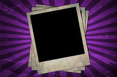 Retro photo frames Royalty Free Stock Photo