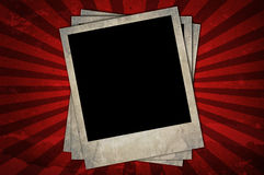 Retro photo frames Royalty Free Stock Photography