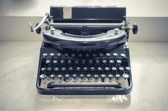 Retro photo of old typewriter Stock Images