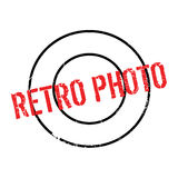 Retro Photo rubber stamp Royalty Free Stock Images
