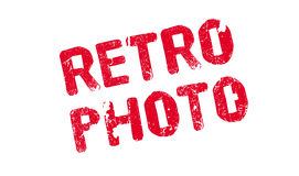 Retro Photo rubber stamp Royalty Free Stock Photography