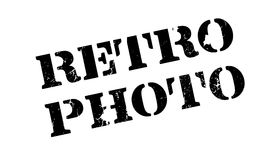 Retro Photo rubber stamp Royalty Free Stock Photos