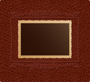 Retro photo on skin background Royalty Free Stock Images