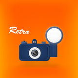 Retro photocamera Royalty Free Stock Photography