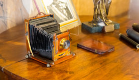 Retro photocamera Stock Photography