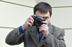 Retro photographer Stock Images