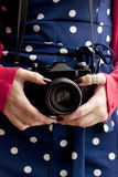 Retro photographer Stock Images
