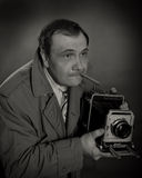 Retro Photographer Stock Photos