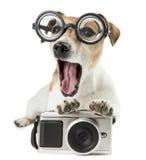 Retro photographer Royalty Free Stock Images