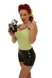 Retro photographer royalty free stock photo