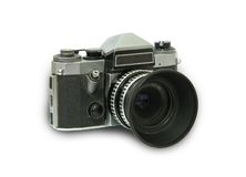 Retro photographic camera Royalty Free Stock Photos