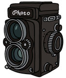 Retro photographic camera Royalty Free Stock Images