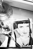 Retro photography stylish women Stock Image