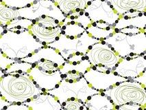 Retro piante di collegamento delle bolle Immagini Stock