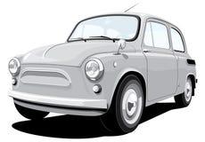 Retro piccola automobile Fotografia Stock Libera da Diritti