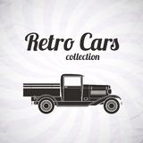 Retro pickup, truck car, vintage collection Royalty Free Stock Photo