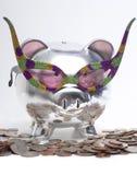 Retro Piggy Bank Stock Images