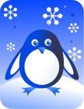 Retro pinguino Immagini Stock