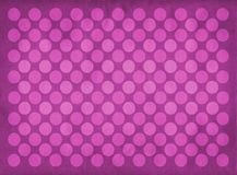 Vintage pink circles pattern. Retro pink circles pattern on a faded pink background royalty free illustration