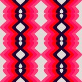 Retro Pink Pattern Stock Photo