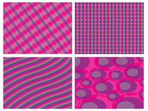 Retro pink and violet combo background Royalty Free Stock Photos