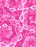 Retro Pink White Diamonds Background Royalty Free Stock Photo