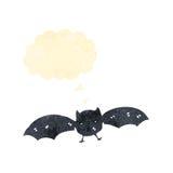 retro pipistrello del fumetto Immagini Stock Libere da Diritti