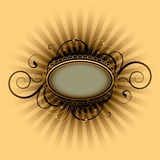 Retro placard Royalty Free Stock Images