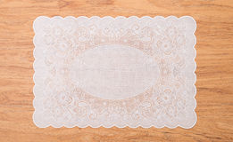 Retro place mat Royalty Free Stock Images