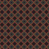 Retro Plaid Abstract Kleurrijk Modieus Net Mesh Pattern Background Royalty-vrije Stock Foto's