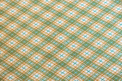 Retro plaid cloth Stock Photos