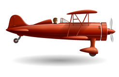Retro Plane Royalty Free Stock Images