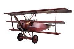 Retro plane isolated on white Stock Photo