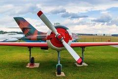 Retro plane Royalty Free Stock Photos