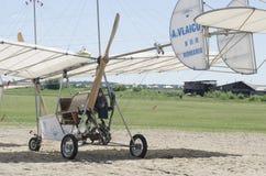 Retro Plane Replica Stock Photo